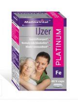 Mannavital IJzer platinum 60 capsules gezondheidswebwinkel