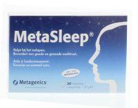 Metagenics Metasleep 30 tabletten gezondheidswebwinkel