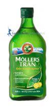 Mollers Levertraan citroen 250 ml gezondheidswebwinkel