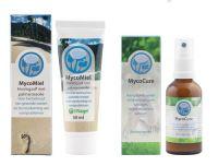 Nagel MycoCure Voetspray met Mycomiel 2 x 50 ml