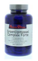 Nova Vitae Groenlipmossel complex forte 180 tabletten gezondheidswebwinkel