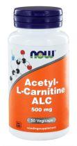 Now Acetyl L Carnitine 500 mg 50 capsules gezondheidswebwinkel