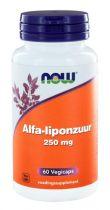 NOW Alfaliponzuur 250 mg 60 capsules gezondheidswebwinkel
