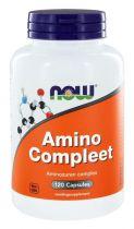 NOW Amino Compleet 120 capsules gezondheidswebwinkel