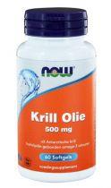 NOW Krill Olie 500mg 60 softgels gezondheidswebwinkel