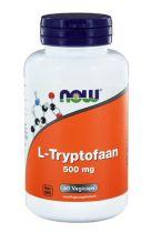 NOW L-Tryptofaan 500 mg 60 softgels gezondheidswebwinkel