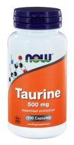 NOW Taurine 500 mg 100 capsules gezondheidswebwinkel