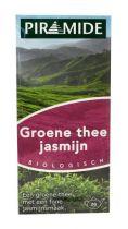 Piramide Groene thee jasmijn eko theebuiltjes gezondheidswebwinkel