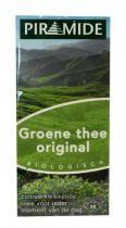 Piramide Groene thee eko original 20 zakjes