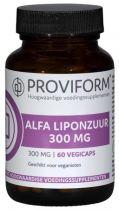 Proviform Alfa Liponzuur 300 mg gezondheidswebwinkel