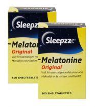 Sleepzz melatonine 0,1 mg 2x 500 Duoverpakking Gezondheidswebwinkel