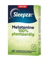 Sleepzz Melatonin 100% natürlich pflanzlich 40 Tabletten