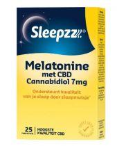 Sleepzz Melatonin mit CBD 7 mg 25 Tabletten