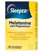 Sleepzz Melatonin mit Magnesium 40 Tabletten