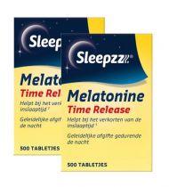 Sleepzz Melatonine time release 1000 tabletten Gezondheidswebwinkel