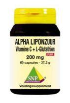 SNP Alpha liponzuur 200 mg puur 60 capsules gezondheidswebwinkel