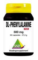 SNP DL-Phenylalanine 500 mg puur 60 capsules gezondheidswebwinkel