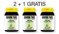 SNP Groene thee 500mg puur aktie 2 + 1 gratis kopen