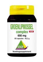 SNP Groenlipmossel complex puur 60 capsules Gezondheidswebwinkel
