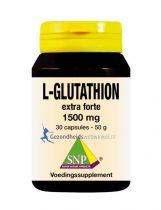 SNP L Glutathion extra forte 1500 mg 30 capsules gezondheidswebwinkel.nl