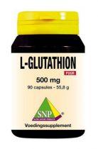 SNP L-Glutathion 500 mg puur 90 Voordeelverpakking gezondheidswebwinkel
