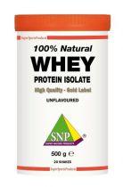 SNP Whey proteine isolate 100% natural gezondheidswebwinkel