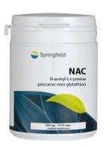 Springfield N Acetyl L Cysteine 120 capsules Gezondheidswebwinkel