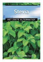 Stevia Boek Het Zoete Alternatief gezondheidswebwinkel