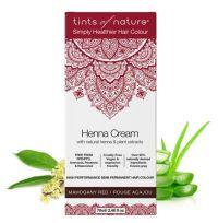 Tints Of Nature Henna cream mahogany red semi permanent kopen