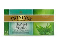 Twinings Green mint 25 theezakjes gezondheidswebwinkel