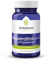 Vitakruid Resveratrol 60 capsules gezondheidswebwinkel