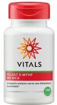Vitals Folaat 5-MTHF 800 mcg 100 capsules gezondheidswebwinkel