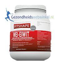 Wei Eiwit Choco Fitshape Gezondheidswebwinkel